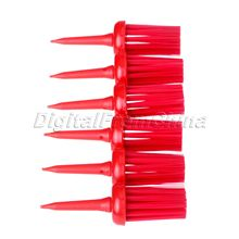 NEW 50Pcs Plastic Bristles Golf Brush Tees Driver Training Bristle Tee 62mm Golf Brushes Tee Tool Accessories Golf Training Aids
