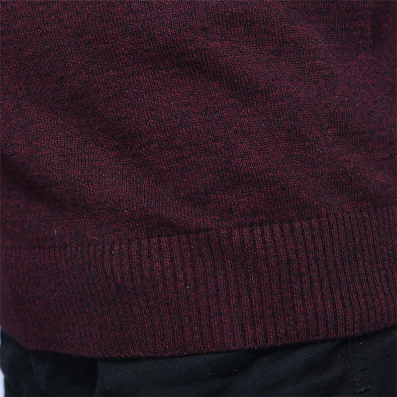 Men Sweater Vest MuLS Brand Winter Colored Wool Knitted Sleeveless Sweater Male Cotton Jumper Autumn Spring 2018 New Size M-3XL-05