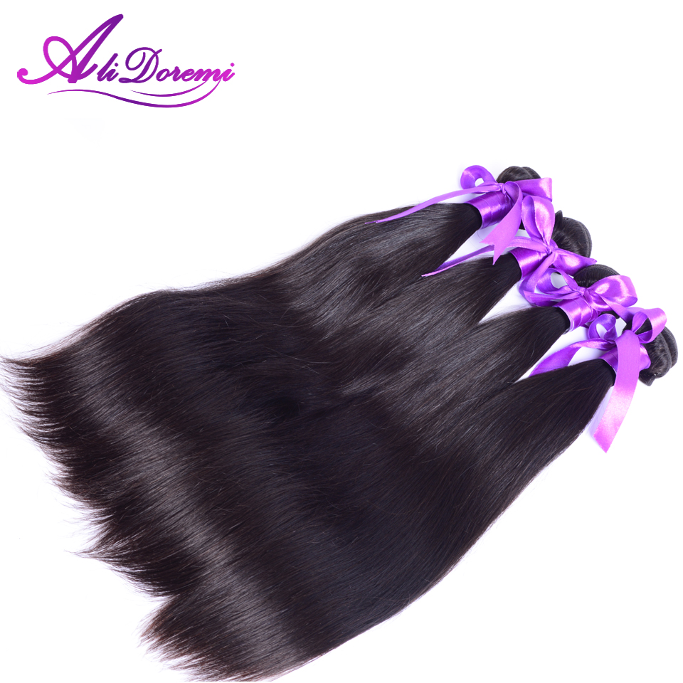 AliDoremi Hair Malaysian Straight Virgin Hair 8A Unprocessed Human Hair Weaves Thick Ends Weaving Malaysian Virgin Hair Straight<br><br>Aliexpress