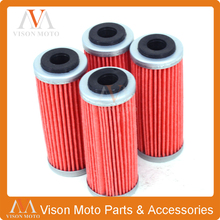 Motorcycle 4 PCS Oil Filter Cleaner For KTM EXCF250 SXF250 XCF250 XCFW250 EXCF300 EXCF350 FREERIDE350 SXF350 XCF350 XCFW350 EXC