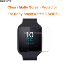 Buy Sony SmartWatch 3 SWR50 Clear Glossy / Anti-Glare Matte Screen Protector Protective Film Guard (Not Tempered Glass) for $1.04 in AliExpress store