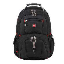 2017 Brand Swiss Men's Backpack female Travel School Bag for quality Laptop 15Inch Notebook Computer bagpack waterproof Business(China)