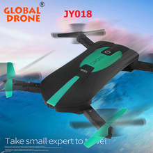 Buy ELFIE JY018 Selfie Drone FPV Wifi Camera Mini Foldable Quadcopter professional dron rc helicopter remote control toys for $27.55 in AliExpress store
