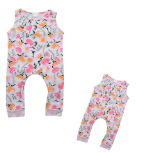 New Brand Pudcoco Baby Girl Clothing Summer 2017 Floral Overalls Rompers Infantil Jumpsuit For Toddler Infant Coveralls