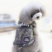 Buy Camouflage Dog Coat Dogs Jackets Puppy Outfit Warm Small Pet Dog Clothes Puppy Harness Vest Winter Pet Clothing 8D20 for $7.54 in AliExpress store