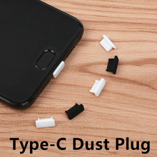 5pcs USB Type-C charge port dust plug for USB Type C cable Interface protector forr xiaomi mi5 mi6 one plus 2 huawei P9 P10(China)