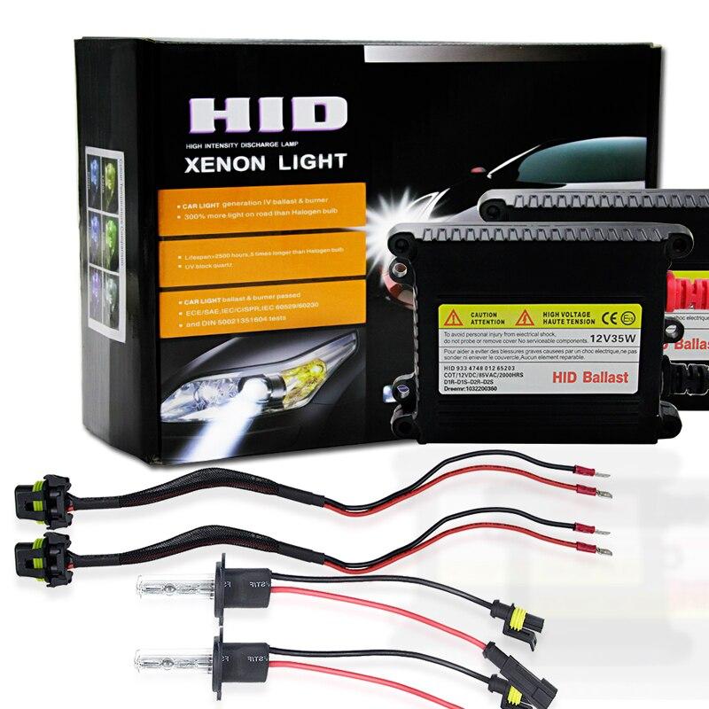 H1 Hid Xenon Lamp Car Auto Parts Dc 12V 35W 4300K Xenon Hid Bulb Light High Power Car Hid Bulb Car Accessories<br>