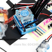 Hobbywing XERUN 120A V3.1 Sersored Bushless ESC BLUE   Brushless Electronic Speed Controller