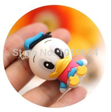 100% real capacity lovely Donald Duck usb flash drive cartoon pendrive USB Pen Drive Disk Flash Memory Stick pendriveping S243(China)