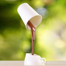 B86-HOT SELL DIY LED Table Lamp Home Romantic Pour Coffee Night Light 2017(China)