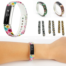 Hot Cartoon Graphic DIY Silicone Fitbit Alta Band Wristband Strap Bracelet Watch Bands Large & Small for Fitbit Alta Sports Band