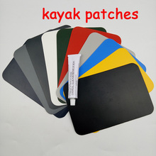 2 pcs/lot Inflatable Boat Kayak Raft Canoe Repairing Fixed Skin Patches Mend Part Durable(China)