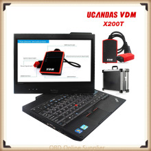 Original Automotive Diagnostic Scanner VDM UCANDAS V3.9 with Lenovo X200T Diagnostic Computer&Softwares Life Time Update Free(China)