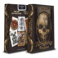 Free Shipping The two generation bicycle Poker alchemy Playing Cards Magic Props Magia Deck(China)