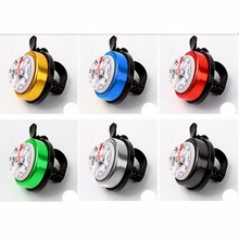 Cycling horns electronic Bike horn Loud Sound Alarm Bell for road ring compass compas light retro Bicycle Accessories timbre