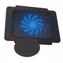 Hot sell Cheap Tablet Notebook Laptop Cooling Pad One Usb Fans Air Cooled 14cm*14cm For Laptop Computer No Led Light(China)