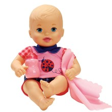 30cm little baby Little Mommy  Bath baby doll take care pretend  toy figure toy