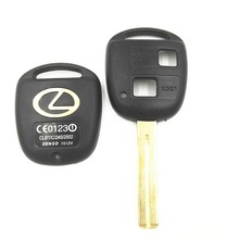 2 Button Replacement Key Shell Toy48 Short Blade For Lexus GX470 RX350 ES300 RX300 RX400h SC GS LS Uncut Blank Key Case Cover