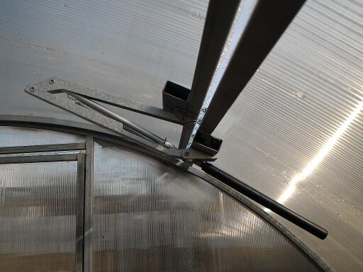 Купить Горячие Парниковых Автоматического Солнечного Тепла Чувствительной Автоматической Окна Крыши Для Бутылок Invernadero Автоматического Открывания Окна дешево