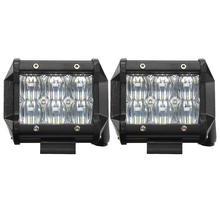 Senzeal 2PCS 5D 30W 3000LM Cree Chip Flood Spot Beam LED Work Light Offroad Driving Lamps for Trucks 4x4 4WD ATV UTV SUV