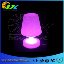 Free shipping Remote control Multicolor LED Light table lamp led furniture light(China)
