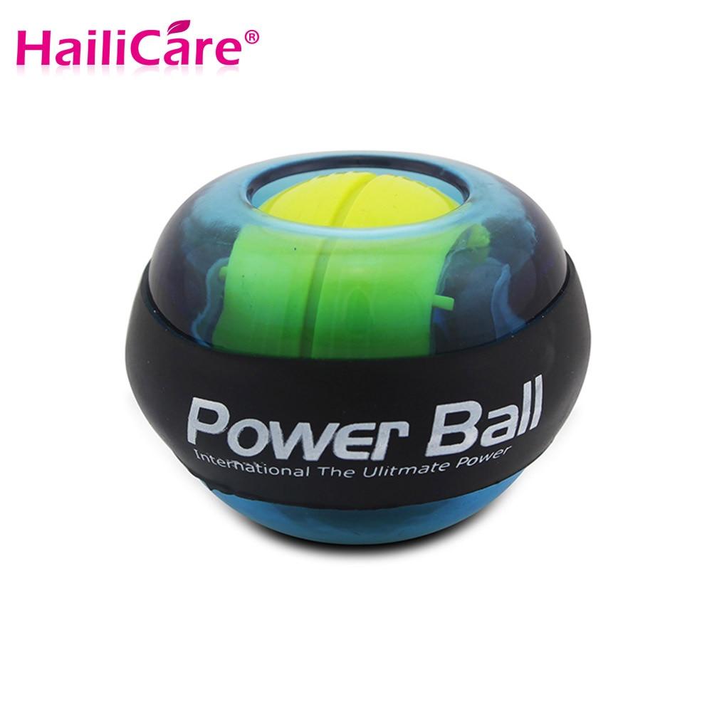 12000+ RPM Gyro Power Ball LED Flashing Power Ball Gyroscope Wrist Arm Exercise Simulator Strengthener Force Fitnes Massage Ball<br><br>Aliexpress