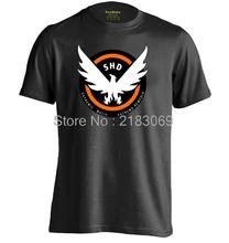 Tom Clancy's The Division SHD The Strategic Homeland Division Logo Mens & Womens Cotton Printing T Shirt(China)