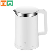 Buy Brand Xiaomi Smart Kettle Mijia Xiaomi Kettle Xiaomi Mi Electric Water Kettle 1.5L 12 Hours Thermostat Bluetooth 4.0 BLE Mi Home for $82.07 in AliExpress store