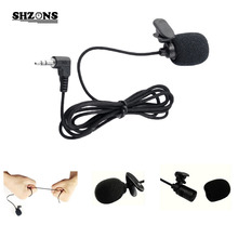 3.5mm Mini Headset Microphone Lapel Lavalier Clip Microphone for Lecture Teaching Conference Guide Studio Mic