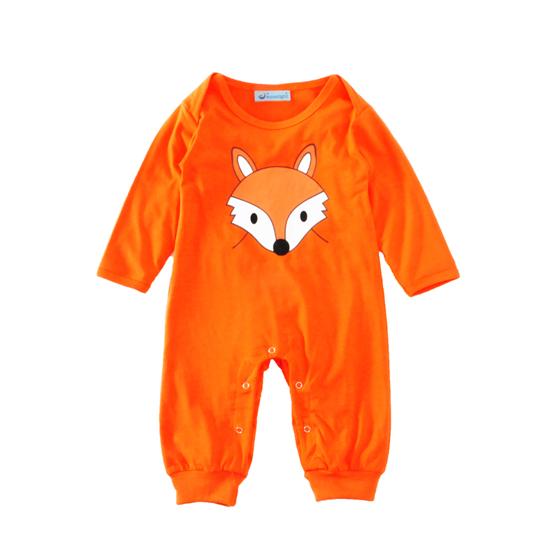 Boy Rompers Cartoon Infant Clothes 2017 Autumn Cute Fox Newborn Baby Romper High Quality Long Sleeve Girls Boys Jumpsuit Outfits<br><br>Aliexpress