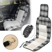 12V Car Heated Heating Pad Hot Front Seat Cushion Cover Winter Warmer Electric Universal Heated Seat Cover High/Low Switch(China)