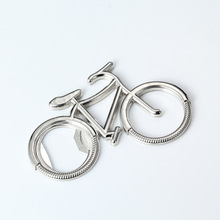 Metal Beer Bottle Opener Cute Bike Bicycle Keychain Key Rings For Lover Biker Bottle Openers Creative Gift For Cycling(China)
