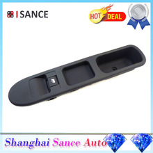 ISANCE Front Left Passenger Power Window Switch Control 96351625XT For Peugeot 307 1.6 16V 2000 2001 2002 2003 2004 2005-2008