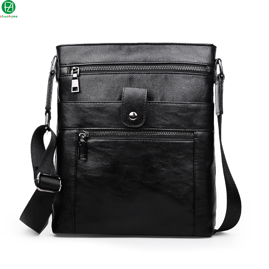 15.6 inches genuine leather men messenger bags brand business men crossbody bags cowhide men shoulder Laptop bags briefcase<br><br>Aliexpress