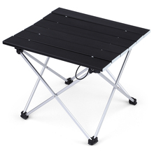 Lightweight Aluminum Alloy Portable Folding Table For Outdoor BBQ Camping Picnic(China)