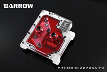 Barrow RGB Full Cover CPU Water Cooling Block MB-GIZ270XA-PA for Gigabyte Aorus GA-Z270X-Gaming GA-Z270-Gaming
