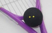 Squash Rackets Two yellow dots squash professional training exercise for beginners slow ball competition usage