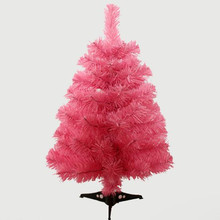 0.6m / 60cm pink christmas tree new year gift Christmas home office desktop ornaments(China)