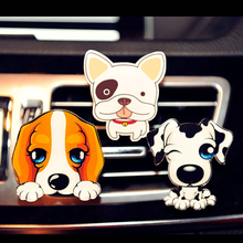 car perfume air freshenerCreative tide cute dog car interior accessories automotive air conditioning export perfume