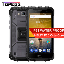 Ulefone Armor 2 IP68 Waterproof MTK Helio P25 Octa Core 6GB RAM 64GB ROM 5.0 inch FHD Android 7.0 4700mAh 9V/2A Smartphone(China)