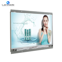 15 inch 1366x768 lcd monitor 12v advertising player flexible lcd display kaiboer media player(China)