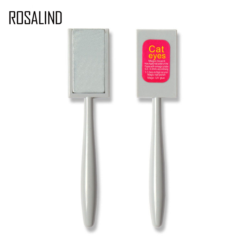 Rosalind Magnet Stick For Cat Eye Nail Gel Magnetic Design Pro Manicure Strong Effect Stick Pen 1Pcs Nail Art 3D Tool(China)