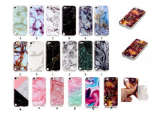 New Arrival Granite Scrub Marble Stone image Painted Soft TPU Case For Apple iPod touch 5 6 itouch 5 itouch 6 Cover Phone cases