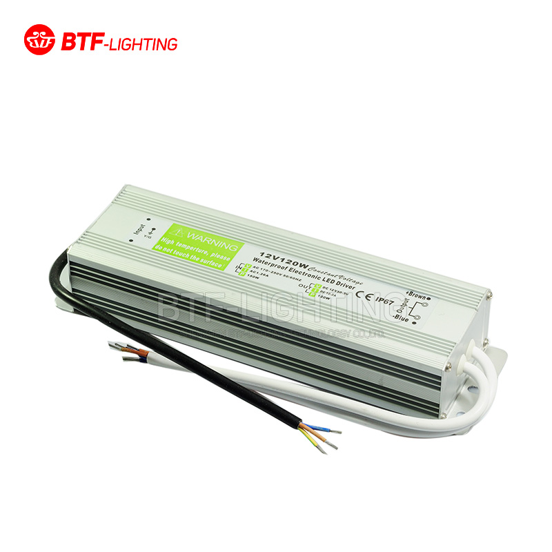 DC 12V 120W Waterproof Electronic LED Driver Transformer Power Supply For LED Light Strip 110V 220V 85-265V<br><br>Aliexpress