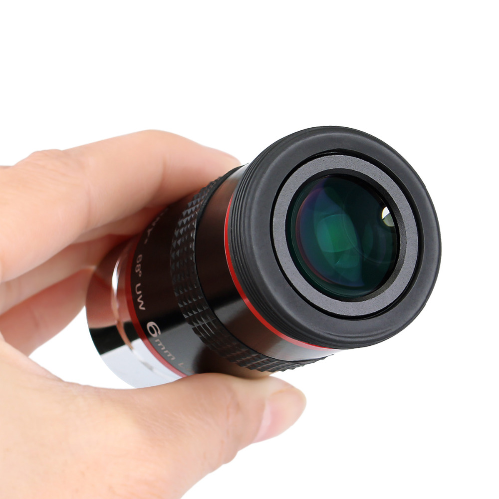 Svbony 1 piece Eyepiece FMC 1.25 68 Degree Ultra Wide Angle 6mm 9mm 15m 20mm for Astronomical Telescope Hot F9152A<br>