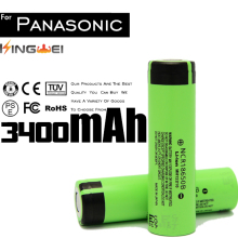 100% New Brand KingWei Original Rechargeable18650 Battery 3400mAh 3.7v Li-ion Batteries Panasonic NCR18650B - ShenZhenKingWei Store store