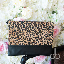 Short-Pile Velour Cheetah Clutch Bag Wholesale Blanks Leopard Patchwork HandBag Bridemaid Gift Evening Bag DOM106668(China)