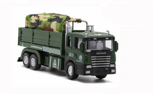 Transport vehicles New High simulation Plastic construction vehicles toys car Military model for child boy gifts