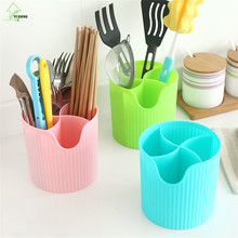 YI HONG Chopsticks Cage Spoon Storage Box Storage Rack Fast Draining Water Cutlery Sponge Holder Dish Multifunction Rack A1140c