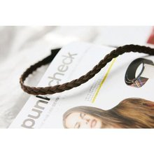 5x Bridal Wig Plait Braid Hair Band Headband Hippy Gypsy (light brown)